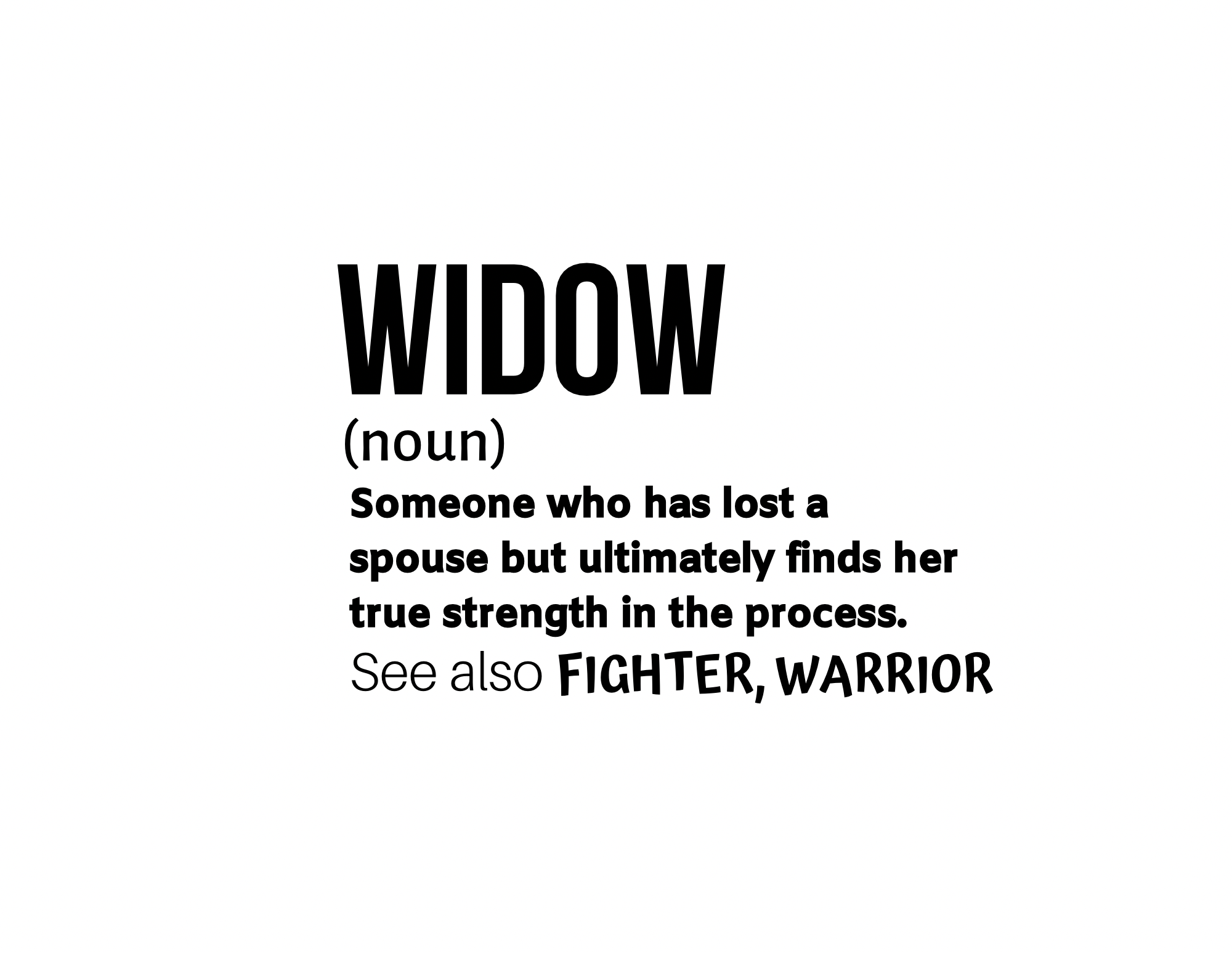 Widowed Meaning